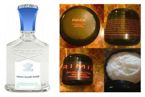 Rimix Double Butter Whipped Moisturizer - Inspired by Creed Virgin Island Water w/ Rimix Rigain Hair Thickening Formula