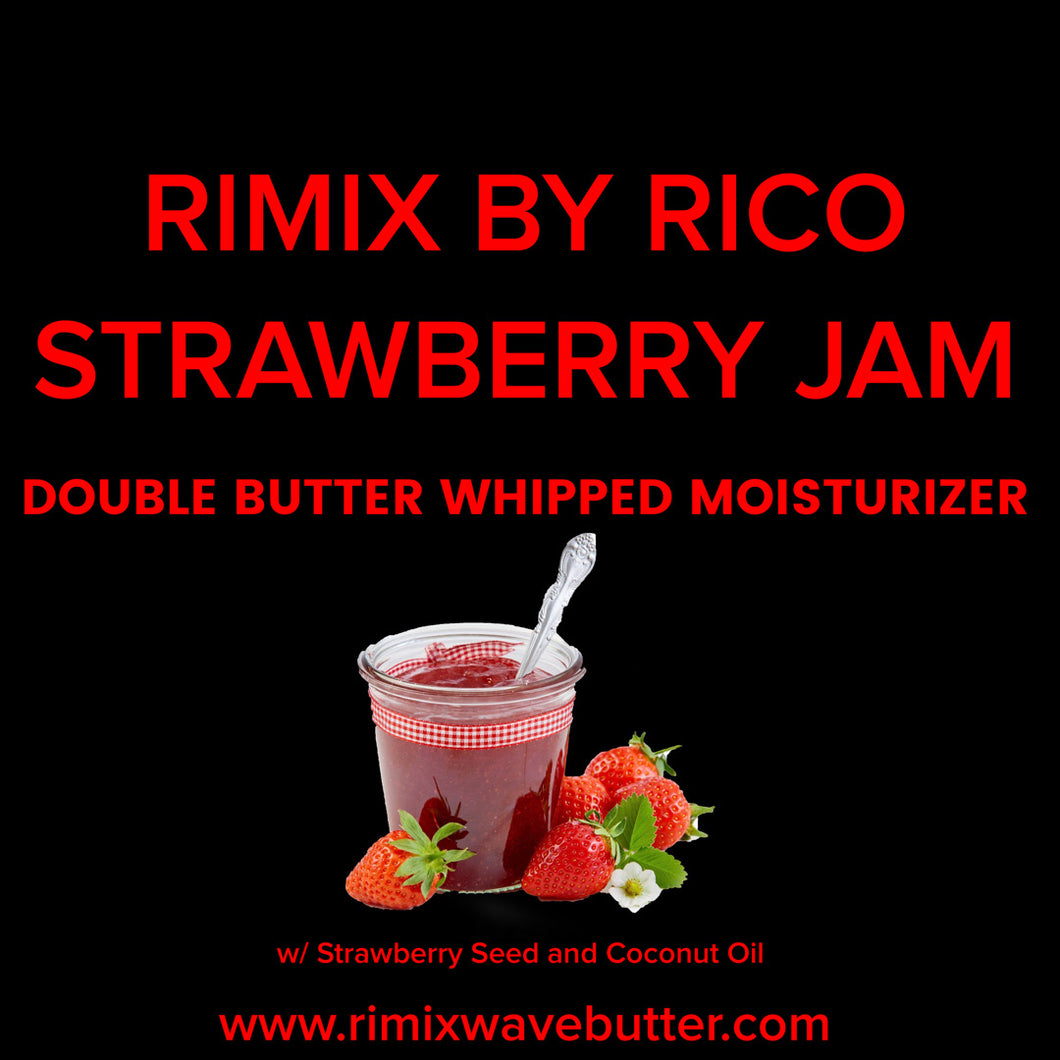 Rimix Double Butter Whipped Moisturizer - Strawberry Jam