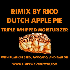Rimix Dutch Apple Pie Triple Whipped Moisturizer with Pumpkin Seed Oil, Avocado, and Emu Oil