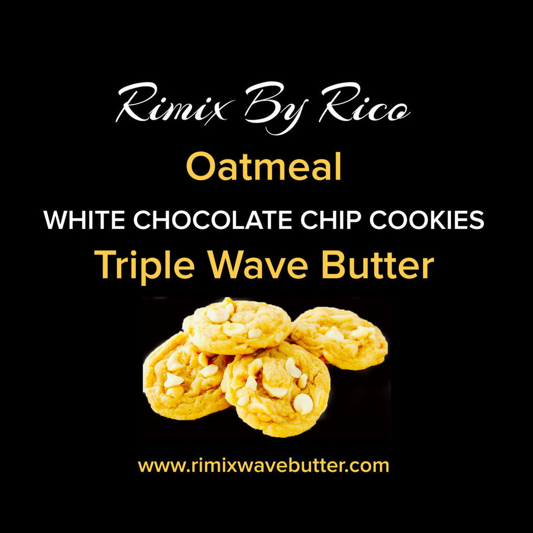 Rimix Oatmeal White Chocolate Chip Triple Wave Butter