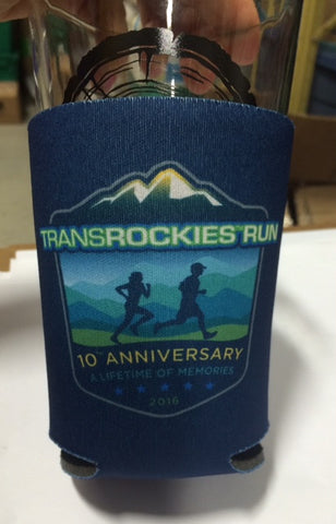 2016 TransRockies Run - 10th Anniversary - Beer Koozie!