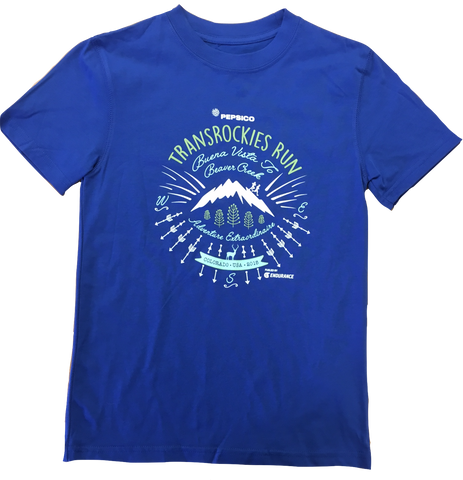 TransRockies Run Kids Shirt 2015