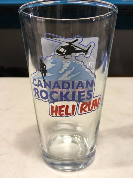 TR Heli Run Beer Glass