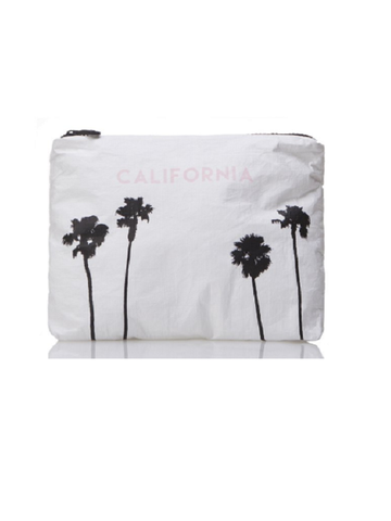 Aloha Collection: Calfornia Palms, Black Print
