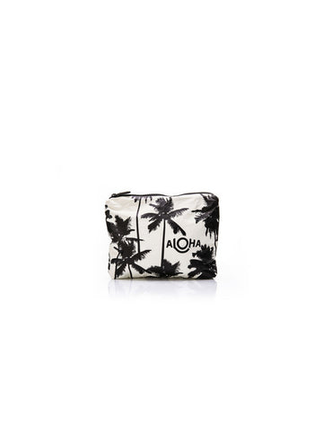 Aloha Collection Small Size Pouch / Coco Palm Black