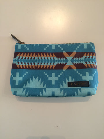 Pendleton: Spider Rock Cosmetic Bag/Aqua