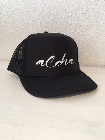 Turquoise Limited Caps: Aloha/Black