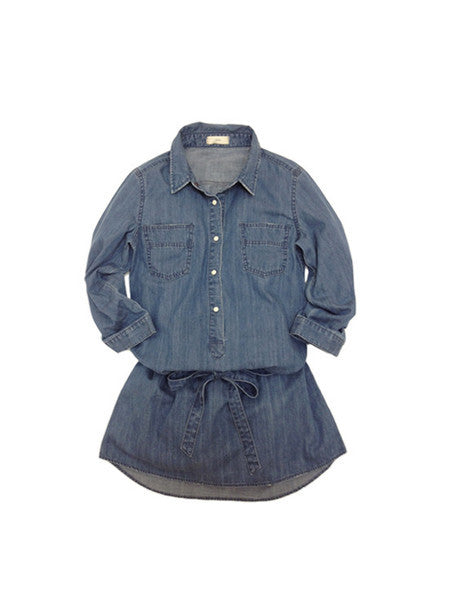 Libllis denim dress / blue