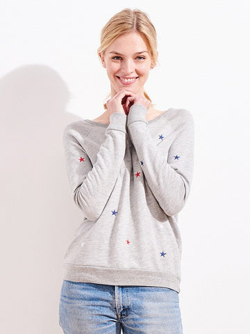 SUNDRY: ALL OVER STARS SWEATSHIRT