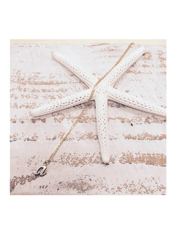 belleza by n 18k gold necklace / a