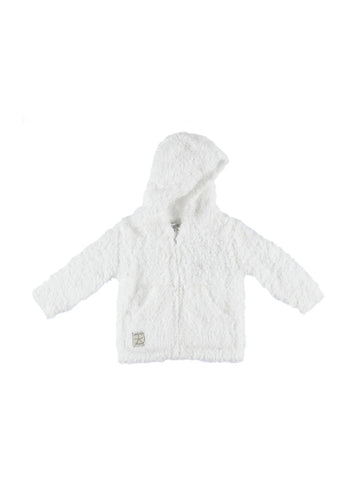 Barefoot Dreams Cozychic® Infant Hoodie / White
