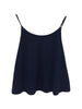 Libllis Stretch Dip Dye Cami Top / Black