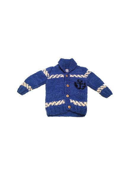 Chibella Boat Sweater / Blue