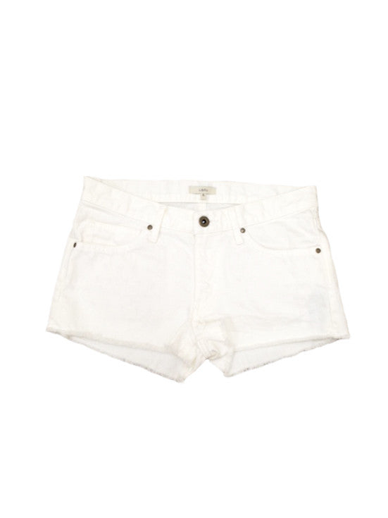 Libllis Denim Shorts/White