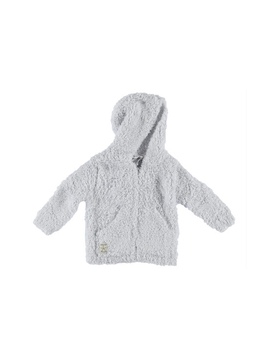 Barefoot Dreams Cozychic® Infant Hoodie / Blue