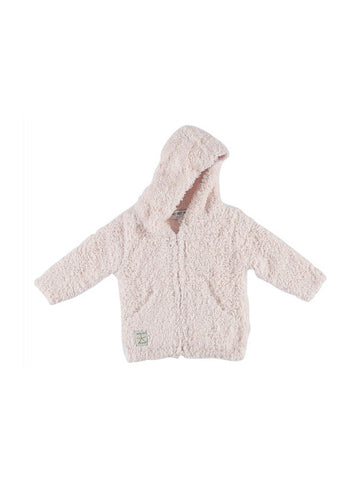 Barefoot Dreams Cozychic® Infant Hoodie / Pink