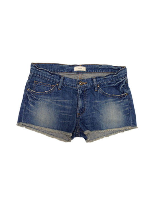 Libllis cut off short denim / light blue