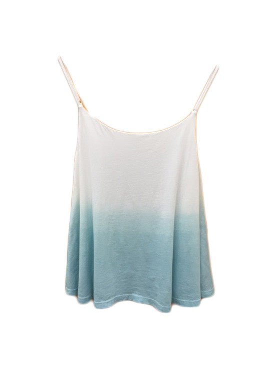 Libllis Stretch Dip Dye Cami Top / Sea