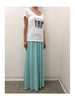 Libllis Long Skirt / Sea