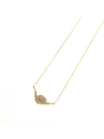 belleza by n 10k necklace hang loose