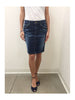 Libllis Stretch Pencil Skirt / Blue