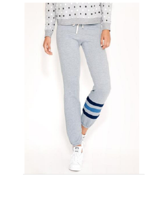 SUNDRY STRIPED CLASSIC SWEATPANT