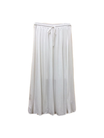 Libllis Long Skirt / White