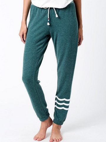 Sol Angeles: WAVES HACCI SLIM JOGGER PINE