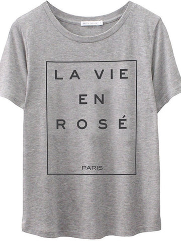 South Parade: Lola - Loose Tee - La Vie En Rosé