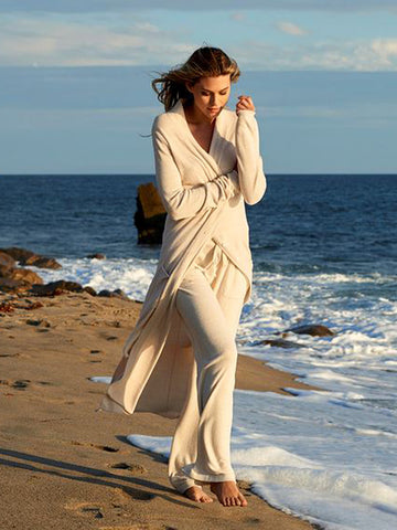 BAREDFOOT DREAMS: COZYCHIC ULTRA LITE® DUSTER SAND