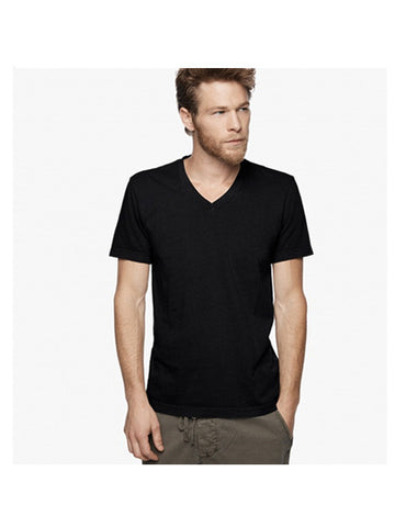James Perse Short Sleeve V-neck / Black