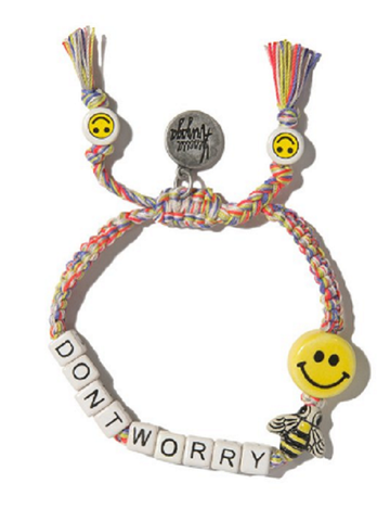 VENESSA ARIZAGA: DON'T WORRY BEE HAPPY BRACELET
