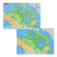 4pk Canadian Education Learnng Mats Smart Poly