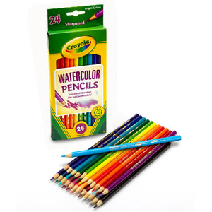 (3 Bx) Crayola Watercolor Pencils 24ct Per Bx