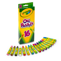 (12 Bx)crayola Oil Pastels 16 Color Set