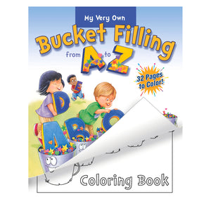 Bucket Filling From A-z Coloring Bk