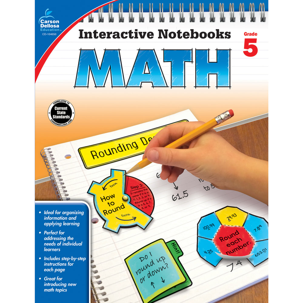Interactive Notebooks Math Grade 5 Resource Book