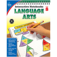 Interactive Notebooks Language Arts Grade 8 Resource Book