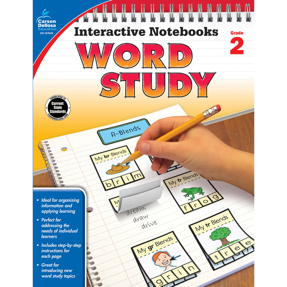 (3 Ea) Word Study Resource Book Grade 2