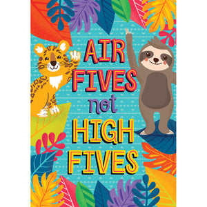 Air Fives Not High Fives Poster One World