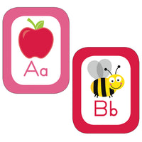 Just Teach Alphabet Cards Bbs School Girl Style