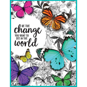 Woodland Whimsy Be The Change Chart