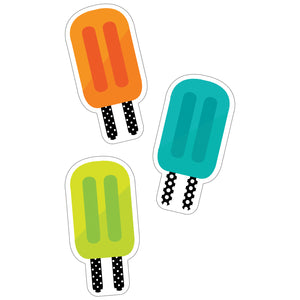 (3 Pk) Tropical Pops Cut-outs Simply Stylish