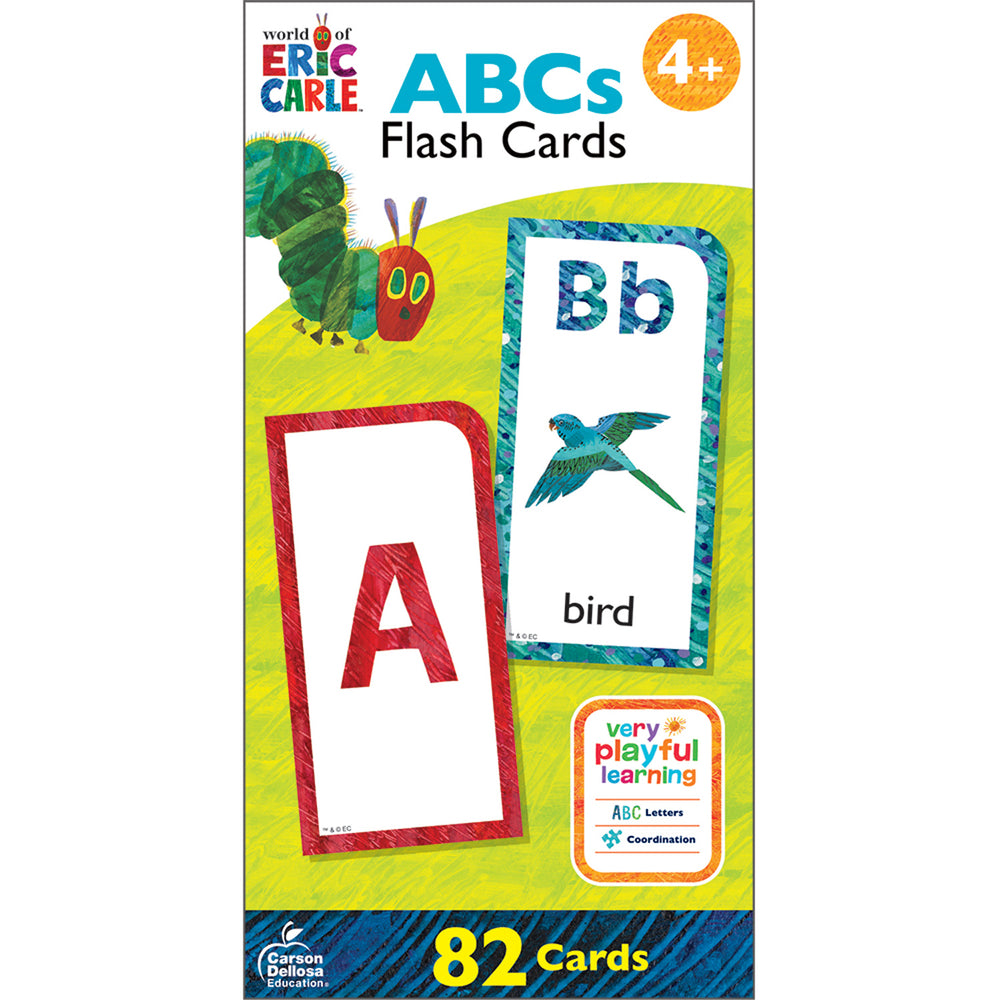 (2 Pk) World Eric Carle Abcs Flash Cards