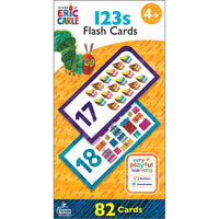 World Eric Carle 123s Flash Cards