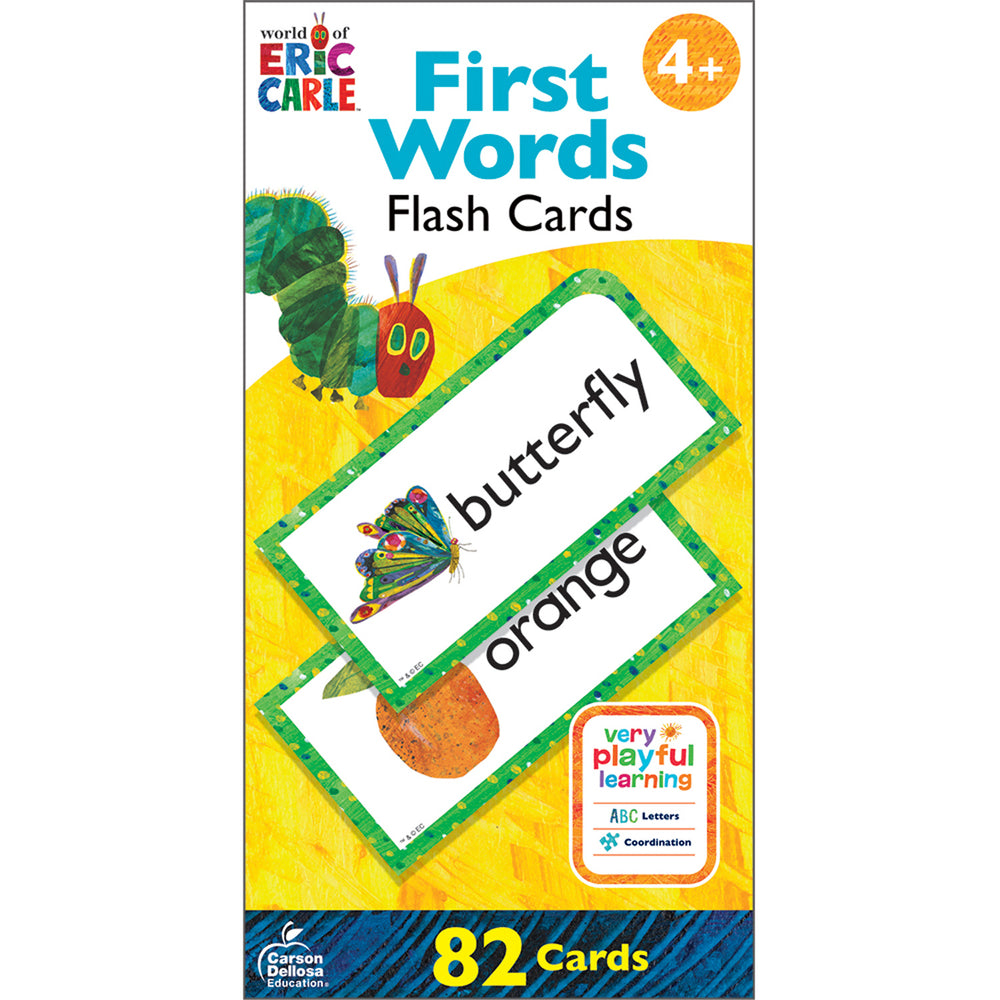 Eric Carle First Words Flash Cards