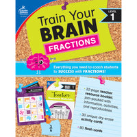 (2 Ea) Train Your Brain: Fractions Level 1