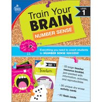 (2 Ea) Train Your Brain Numbr Sense Lvl 1