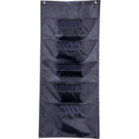 (2 Ea) File Folder Storage Black Pocket Chart