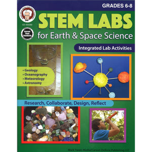 (3 Ea) Stem Labs Earth Space Sci Bk Gr 6-8